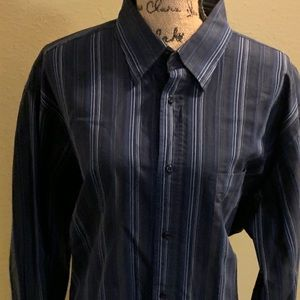 Bugatchi Men's Long sleeve button up shirt